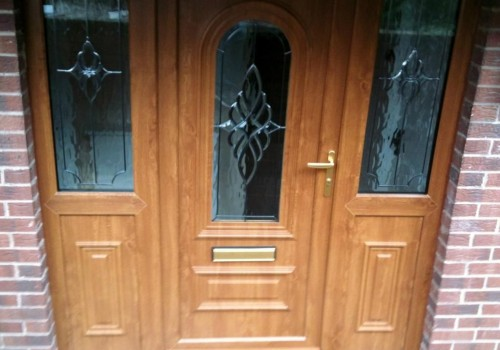 DOUBLE COMPOSITE DOOR